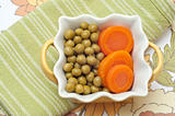 Bowl of Peas and Carrots