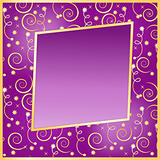 vector seamless christmas background with frame