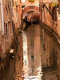 Gondolier in Venice, Italy