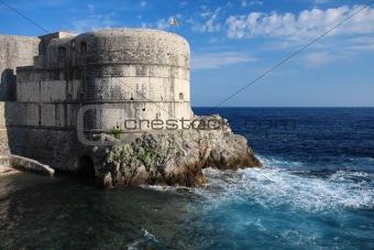 Fortress Bokar in Dubrovnik, Croatia