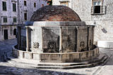 Big Onofrio&#39;s Fountain in Dubrovnik, Croatia
