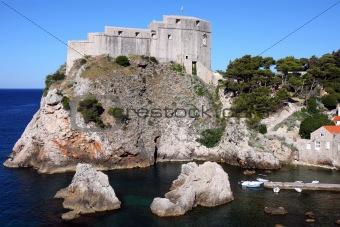 Fortress Lovrjenac in Dubrovnik, Croatia