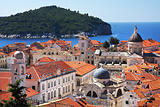 Dubrovnik old town and Lokrum