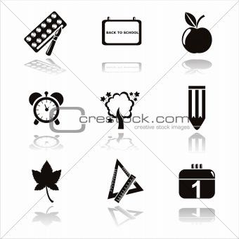 black school icons