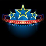 Blockbuster with stars