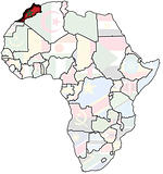 morocco on africa map