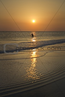 Calm Waters at Sunset, Florida