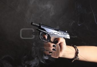 Black pistol