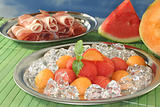 Melon with ham