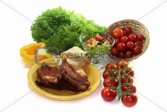 Spare ribs