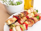 Preparation of kebab