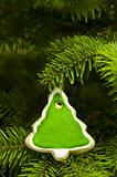 Tree shape short bread cookie