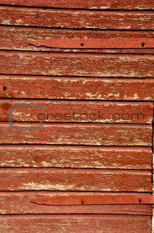 Old wooden building wall.