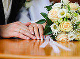 Wedding Ring and hands