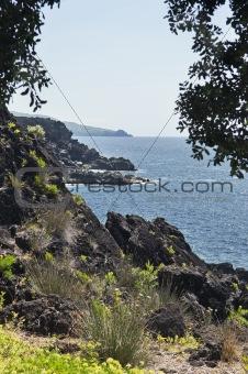 Azores coastline