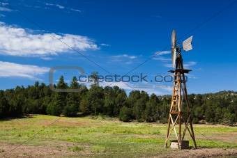 Old Farm Windmill