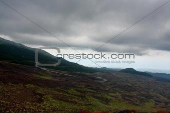 slope of Etna