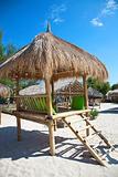 Exotic beach resort