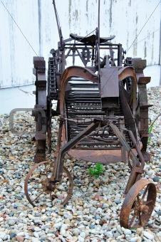 Antique Potato Harvester