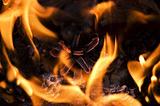 Burning.