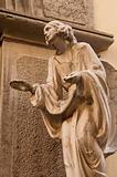 Statue in Bergamo, Italy