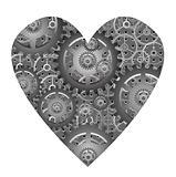 mechanical heart - vector