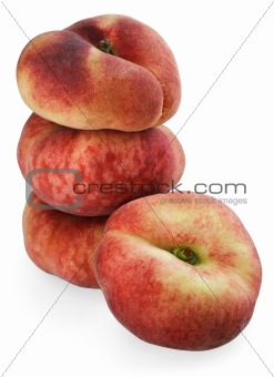 Chinese flat peaches