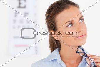 Thinking eye specialist