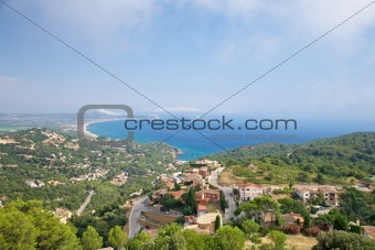 coastline from Begur