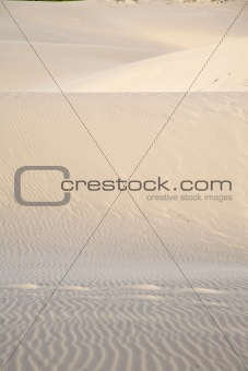 footsteps on great sand dune