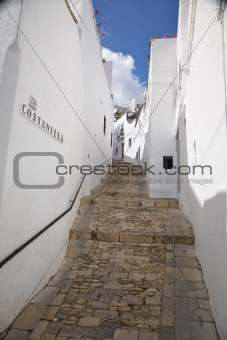 upstairs street at Vejer village