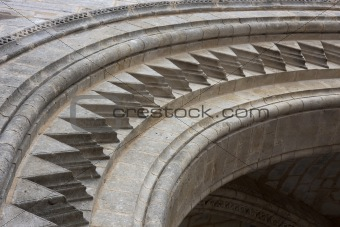cathedral arch details
