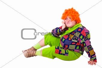 costume Carlson, holiday clown