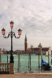 Grand canal and San Giorgio Maggiore Church.