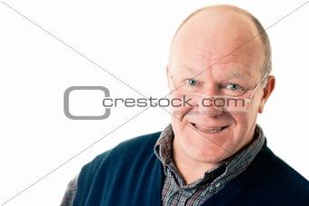 Portrait of confident man in glasses
