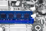 Blue computer memory