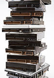 Stack of hard drive