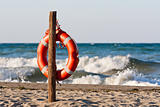 lifebuoy in the Mediterranean