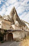 Limestone cave home Goreme