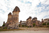 Limestone rock formation Goreme beauty spot