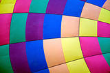 hot air balloon colours texture