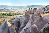 weathered limestone formation Cappadocia, Turkey