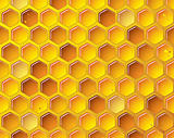 Honeycomb background concept