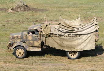 Old army truck