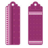 Beautiful tags or labels with stars and dots