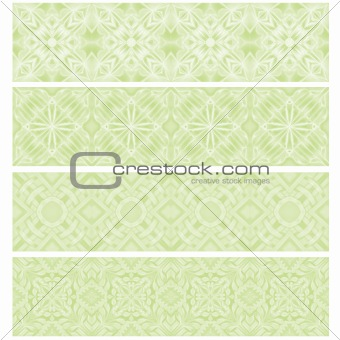 green trim or border collection