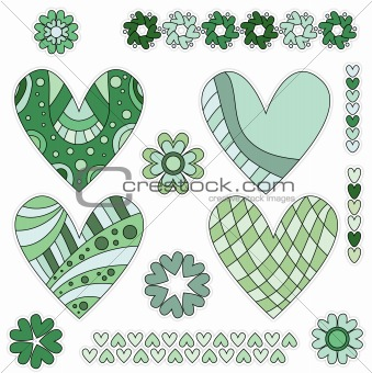 Green Hearts Collection