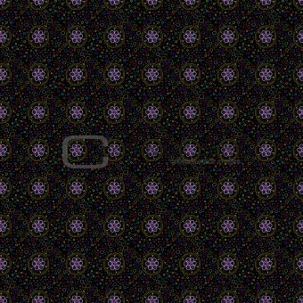 Beautiful seamless tiling texture with flowers