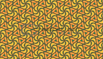 Beautiful orange, yellow and green seamless tiling texture