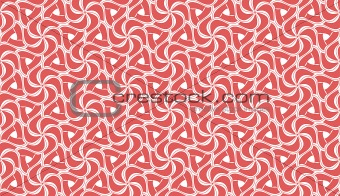 Beautiful red and white seamless tiling texture